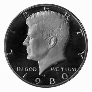 1980 S Kennedy Half Dollar CN-Clad Proof
