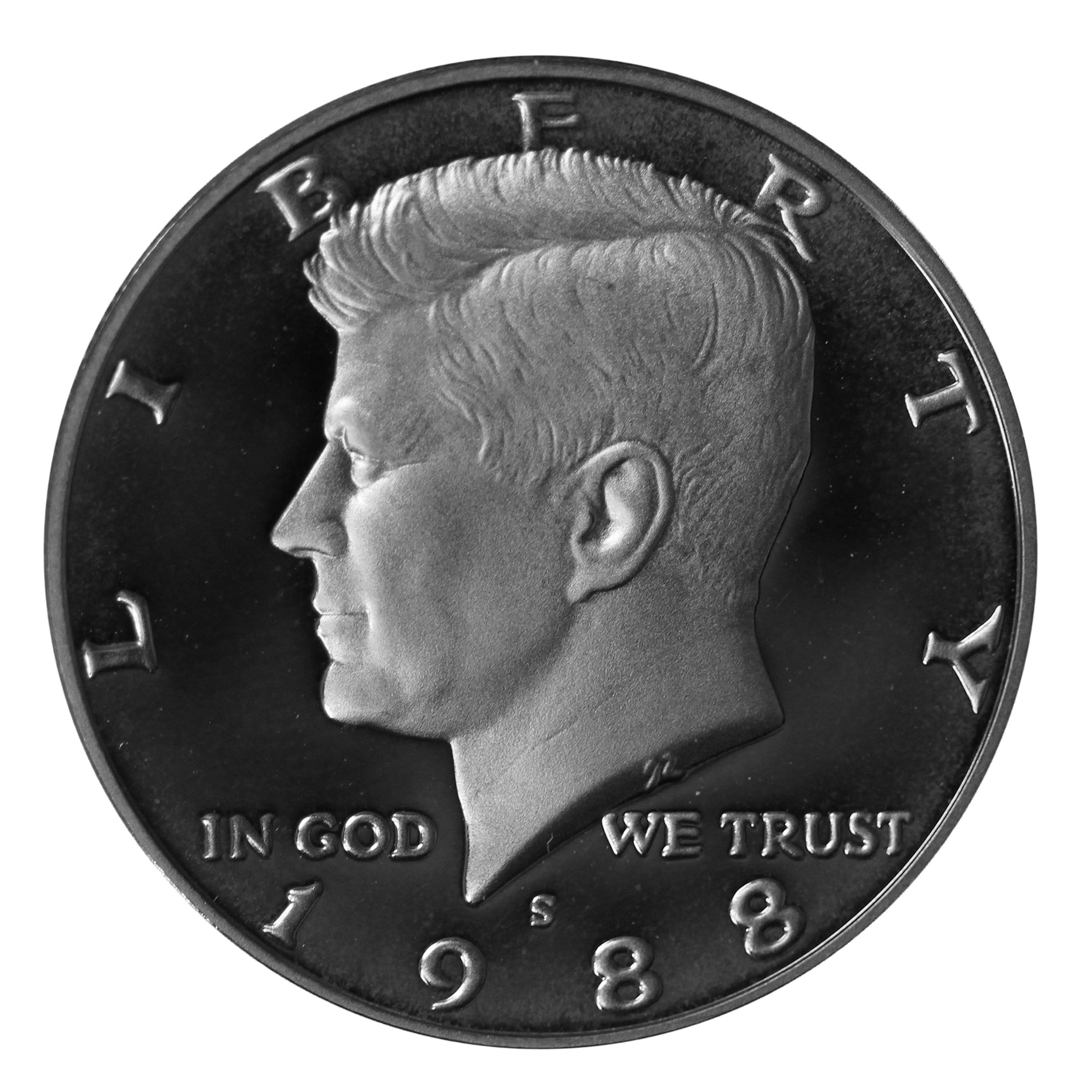 1988 S Kennedy Half Dollar CN-Clad Proof