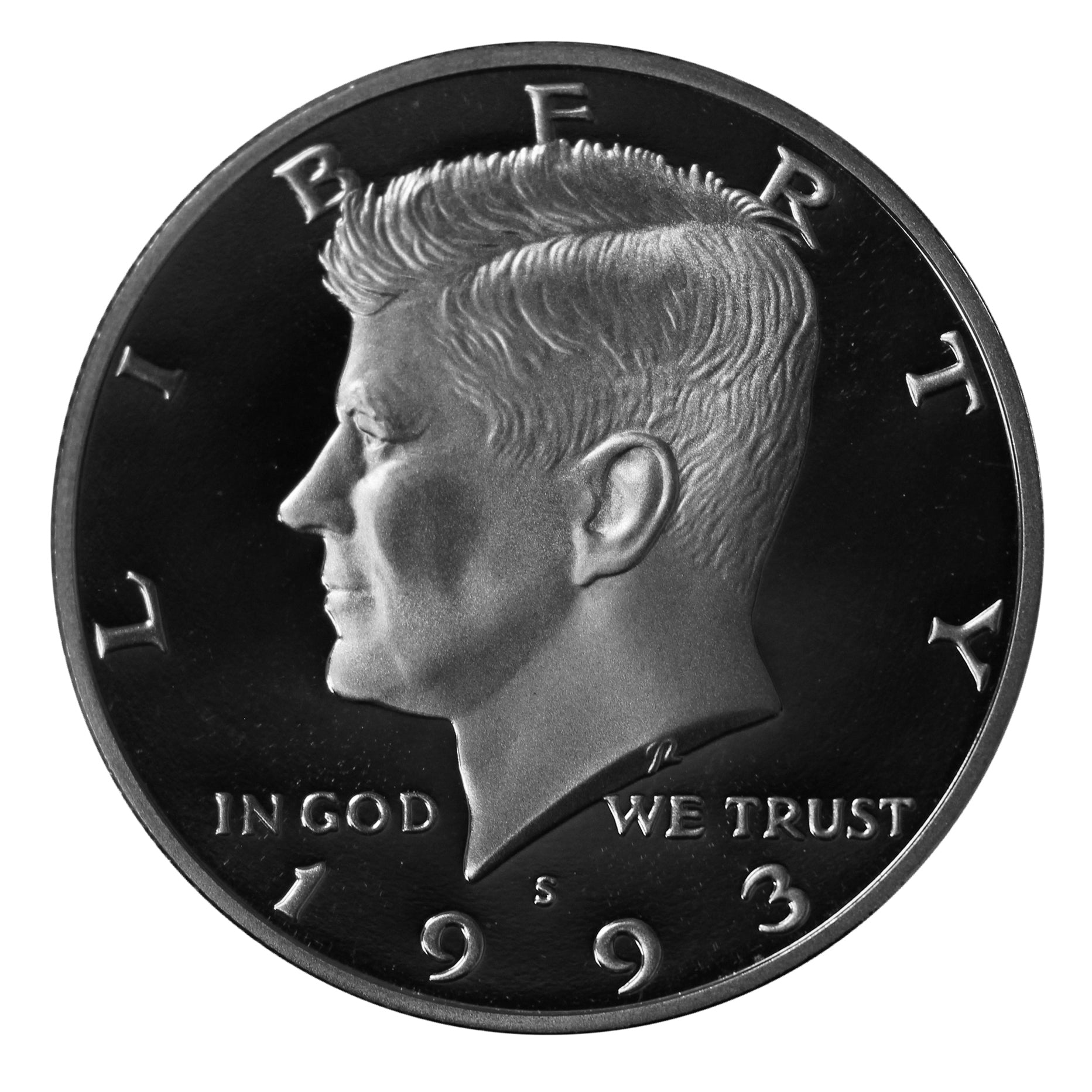 1993 S Kennedy Half Dollar CN-Clad Proof