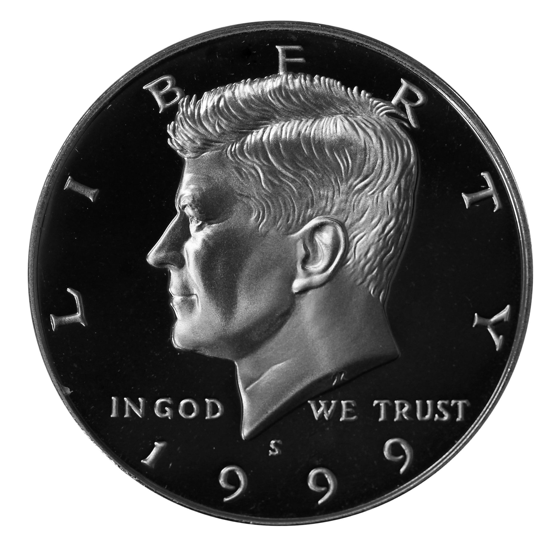 1999 S Kennedy Half Dollar CN-Clad Proof