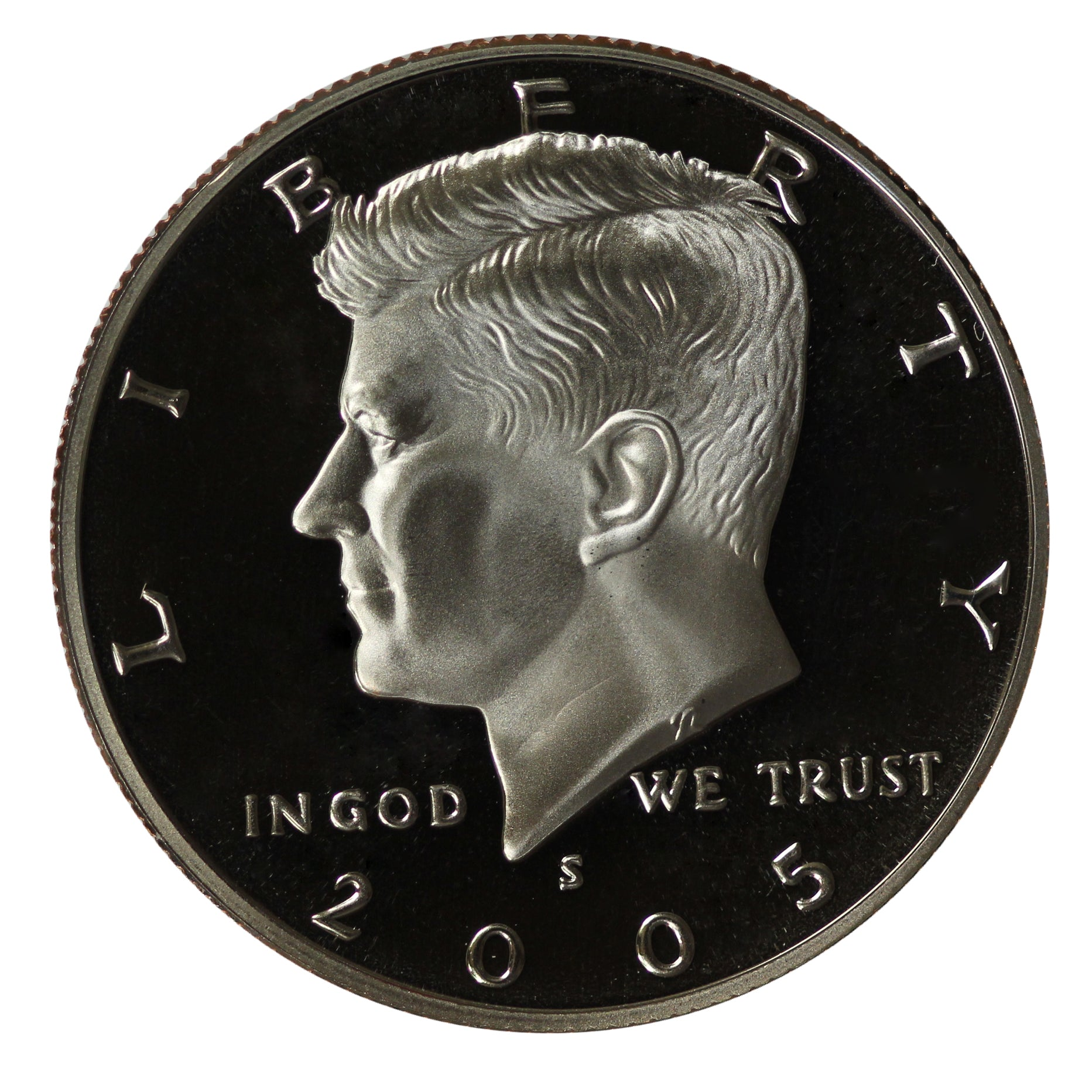 2005 S Kennedy Half Dollar CN-Clad Proof