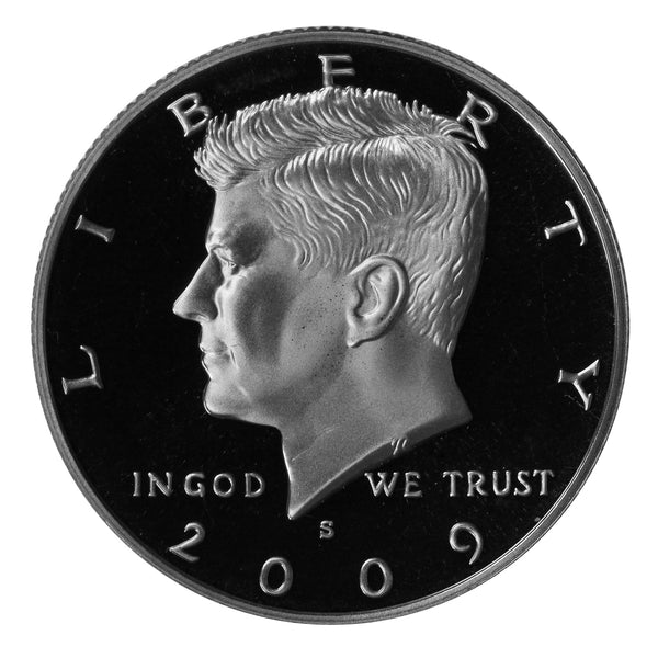 2009 S Kennedy Half Dollar Gem Proof Roll CN-Clad (20 Coins)