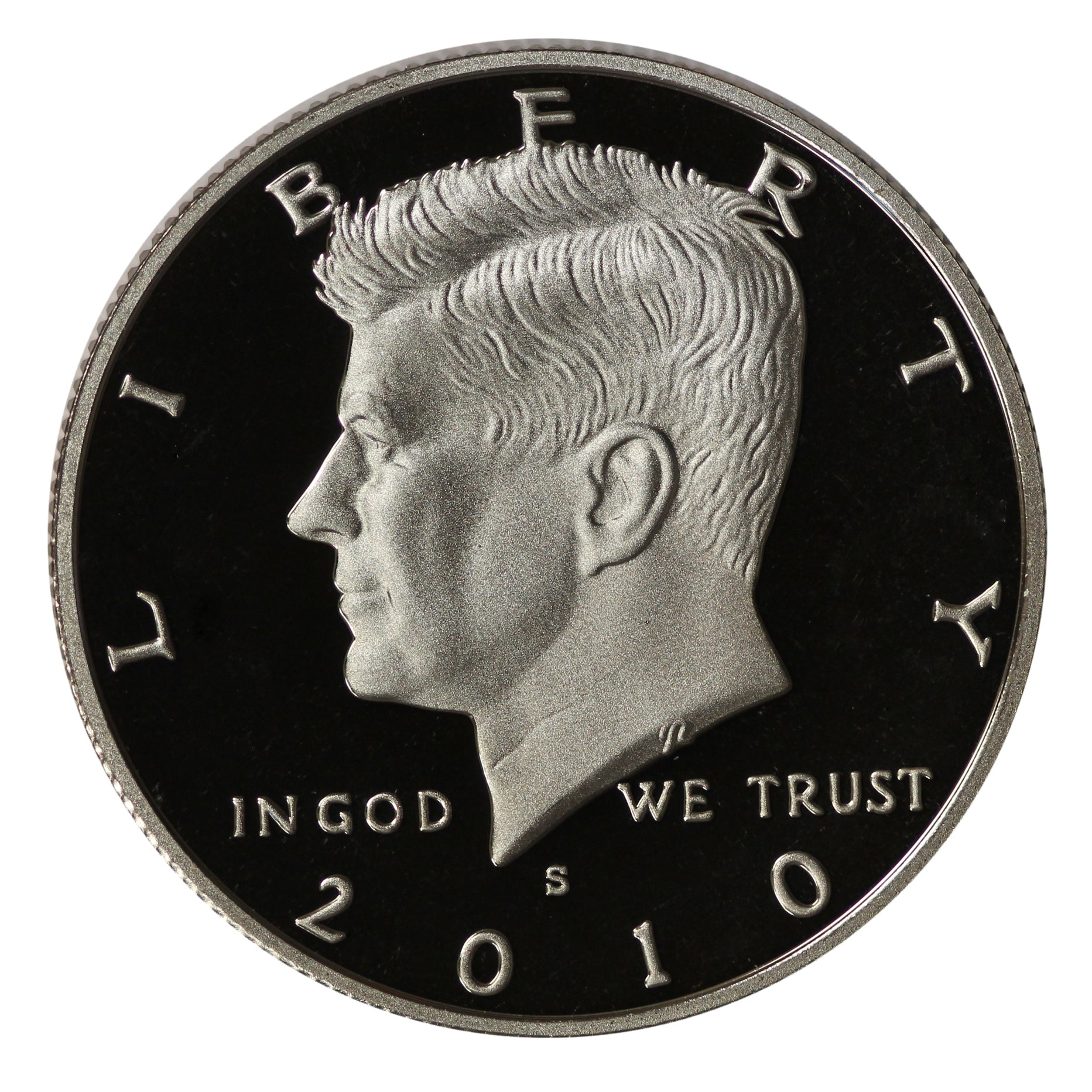 2010 S Kennedy Half Dollar CN-Clad Proof