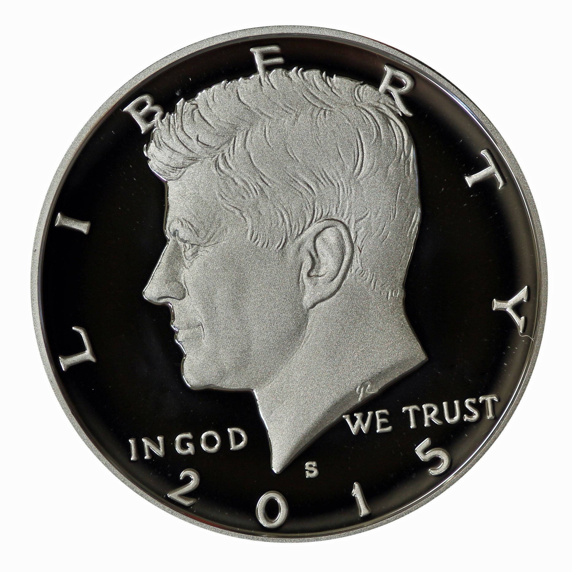 2015 S Kennedy Half Dollar CN-Clad Proof