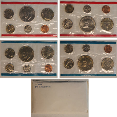 1975 PD US Mint Set (OGP) 12 Coins
