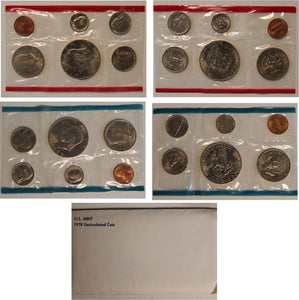 1978 PD US Mint Set (OGP) 12 Coins