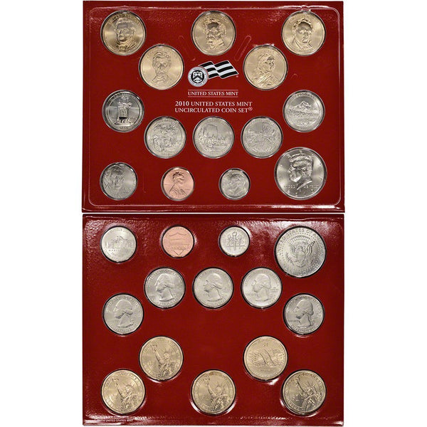 2010 PD US Mint Set (OGP) 28 coins