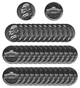 1950 Jefferson Nickel Gem Proof Roll (40 Coins)