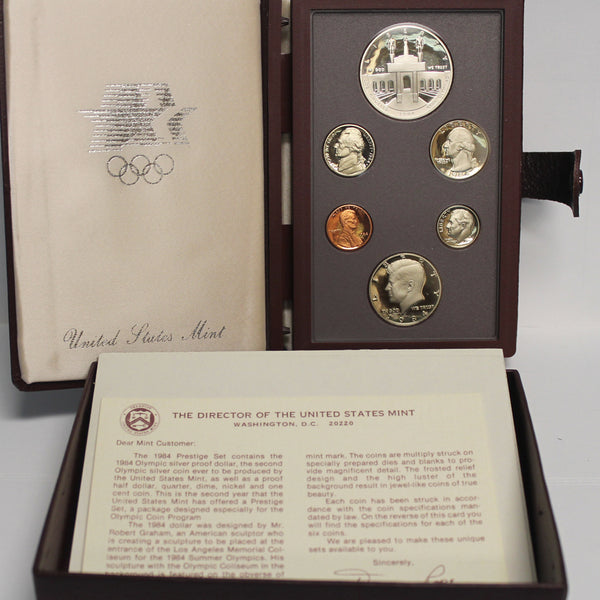 1984 Prestige Proof Set (OGP) 6 coins