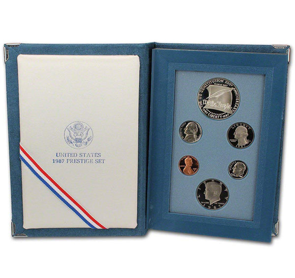 1987 Prestige Proof Set (OGP) 6 coins