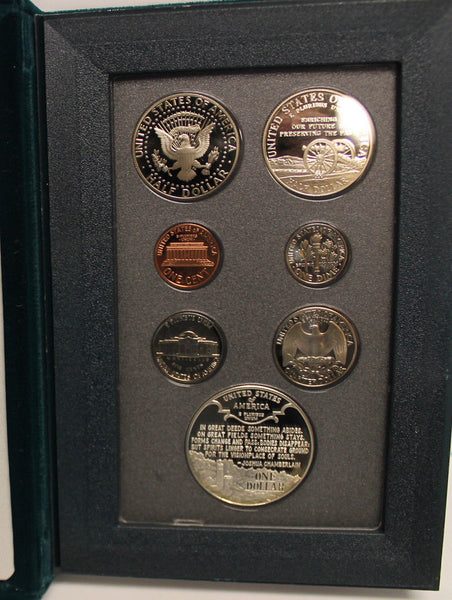 1995 Prestige Proof Set (OGP) 7 coins