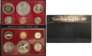 1977 Proof Set CN-Clad (OGP) 6 coins