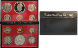 1978 Proof Set CN-Clad (OGP) 6 coins