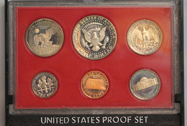 1980 Proof Set CN-Clad (OGP) 6 coins