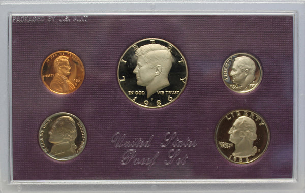 1984-1993 S Proof Set Run CN-Clad 10 Sets 50 Coins