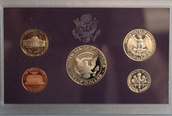 1993 Proof Set CN-Clad (OGP) 5 coins