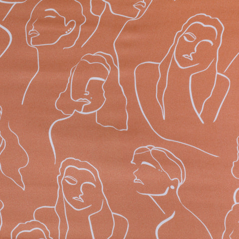 The Maya: Silky Women Printed Scarf