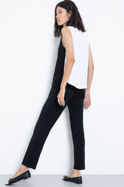 Soft knit modal lounge pants - back view