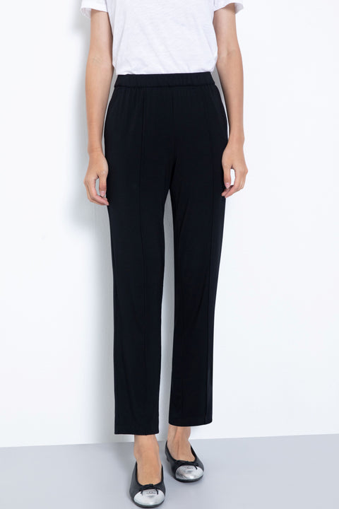 Soft knit modal lounge pants - front view
