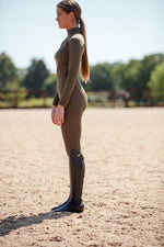 Olive Tech Leggings