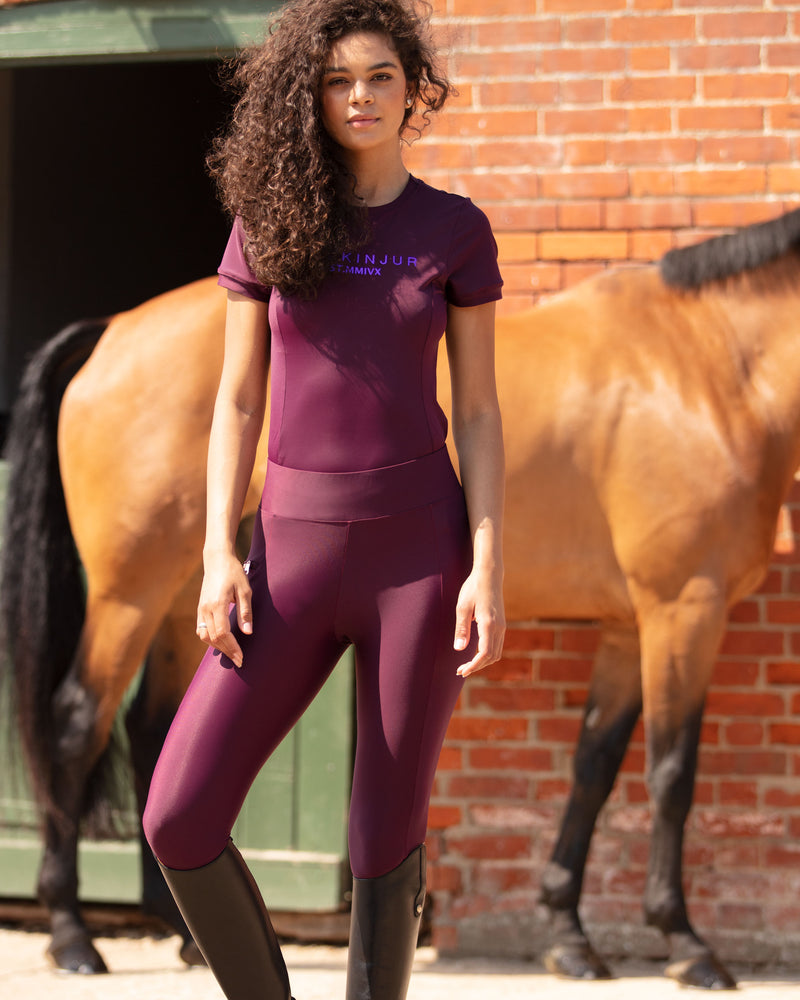 Plum Tech T-Shirt