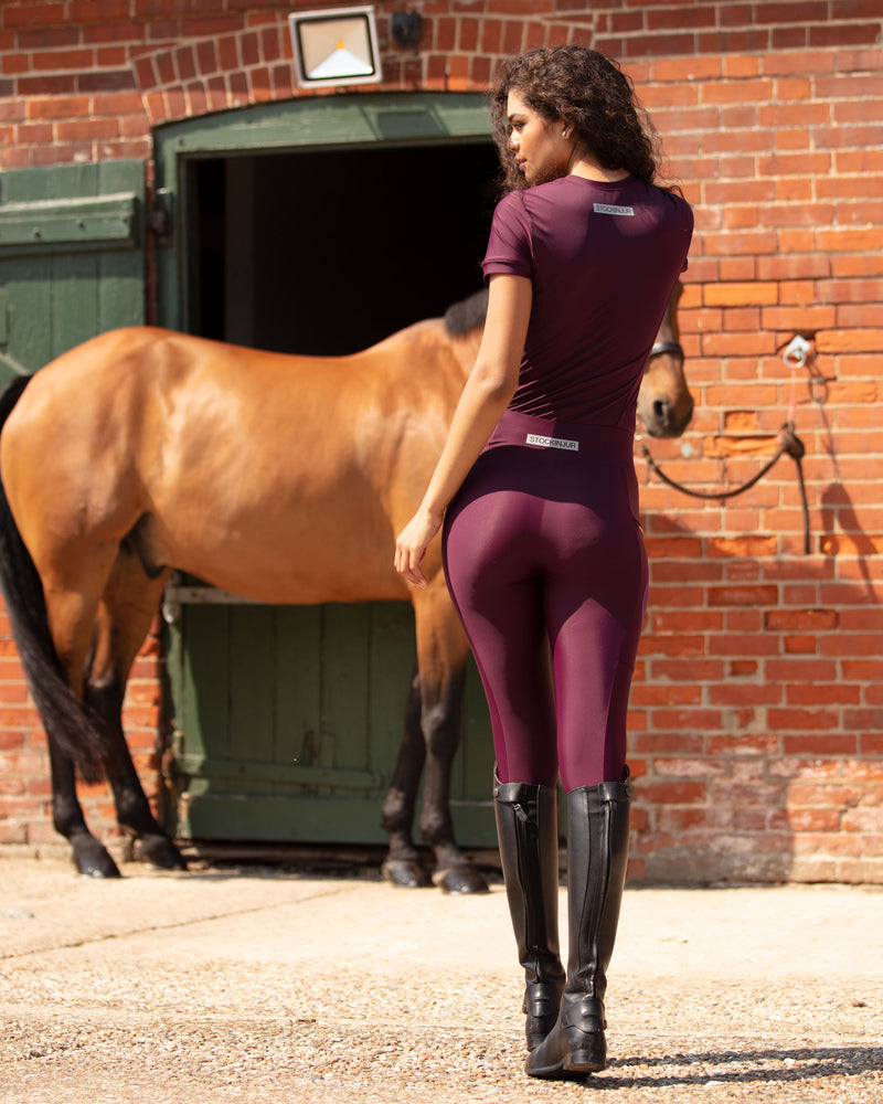 Plum Tech Leggings