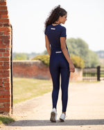 Navy Tech Leggings