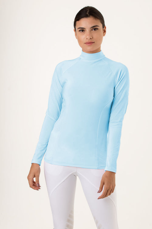 Baby Blue riding baselayer
