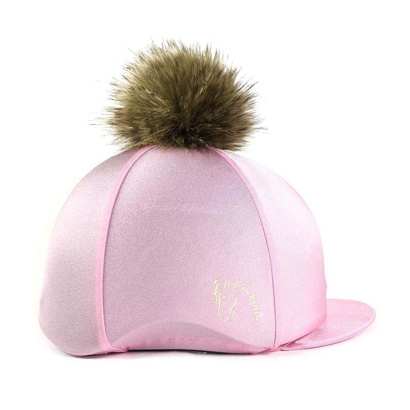 Baby Pink Lycra Hat Cover