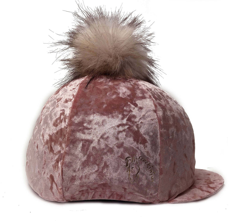 Baby Pink Dapple Hat Cover