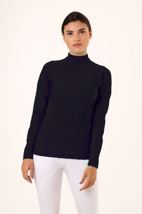 black riding baselayer