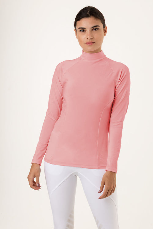 Blush riding baselayer