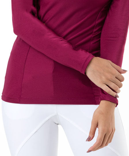 Cranberry riding baselayer