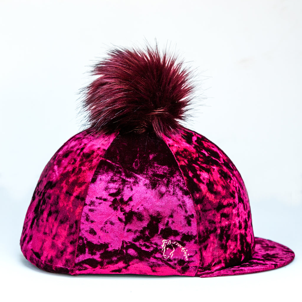 Cranberry Dapple Pom Pom Hat Silk