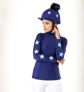 Navy and Baby Blue Constellation XC Set