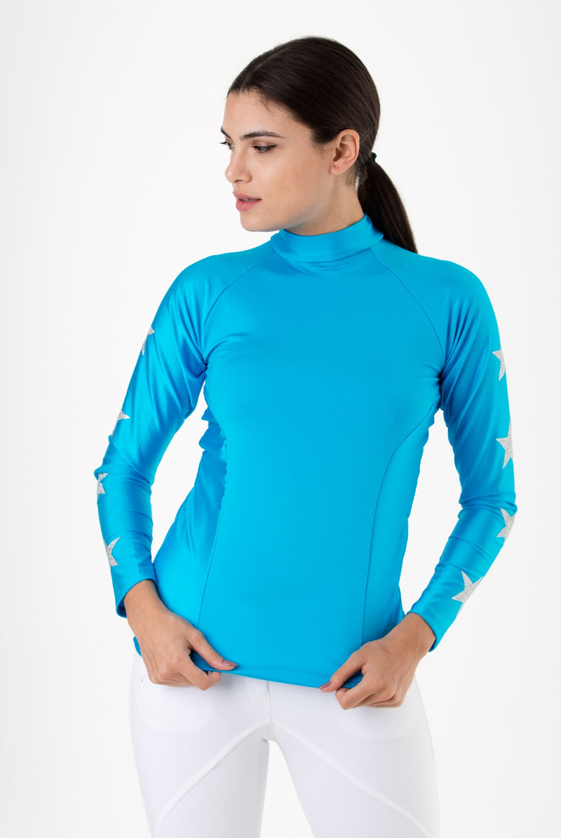 Teal & Silver Constellation Baselayer