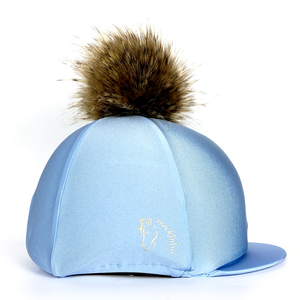 Ice Blue Lycra Hat Cover