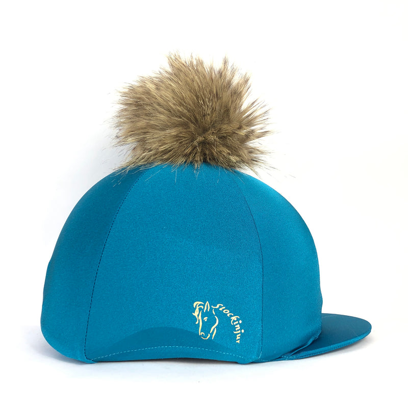 Peacock Lycra Hat Cover