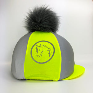 Fluorescent Yellow Beacon Hat Silk