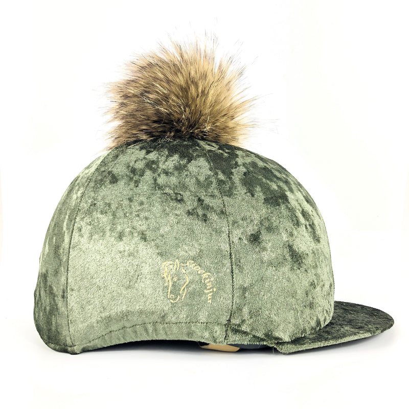 Olive Dapple Hat Cover