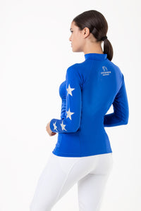 Royal Blue Constellation with Silver Stars XC Set