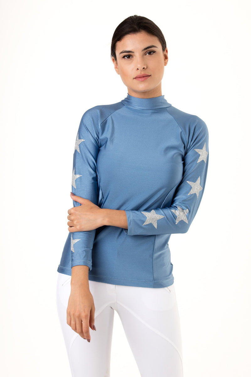 Cornblue & Silver Constellation Baselayer