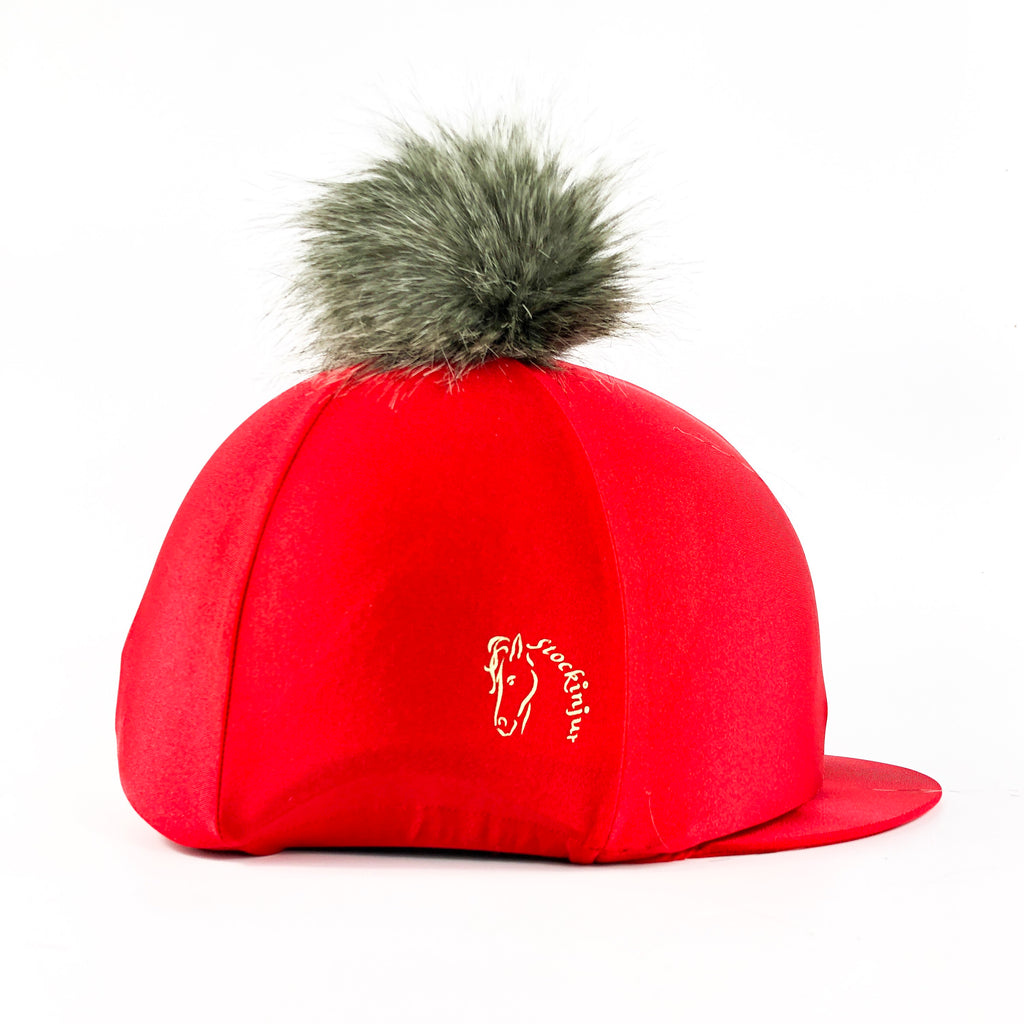 Lava Red Lycra Hat Cover
