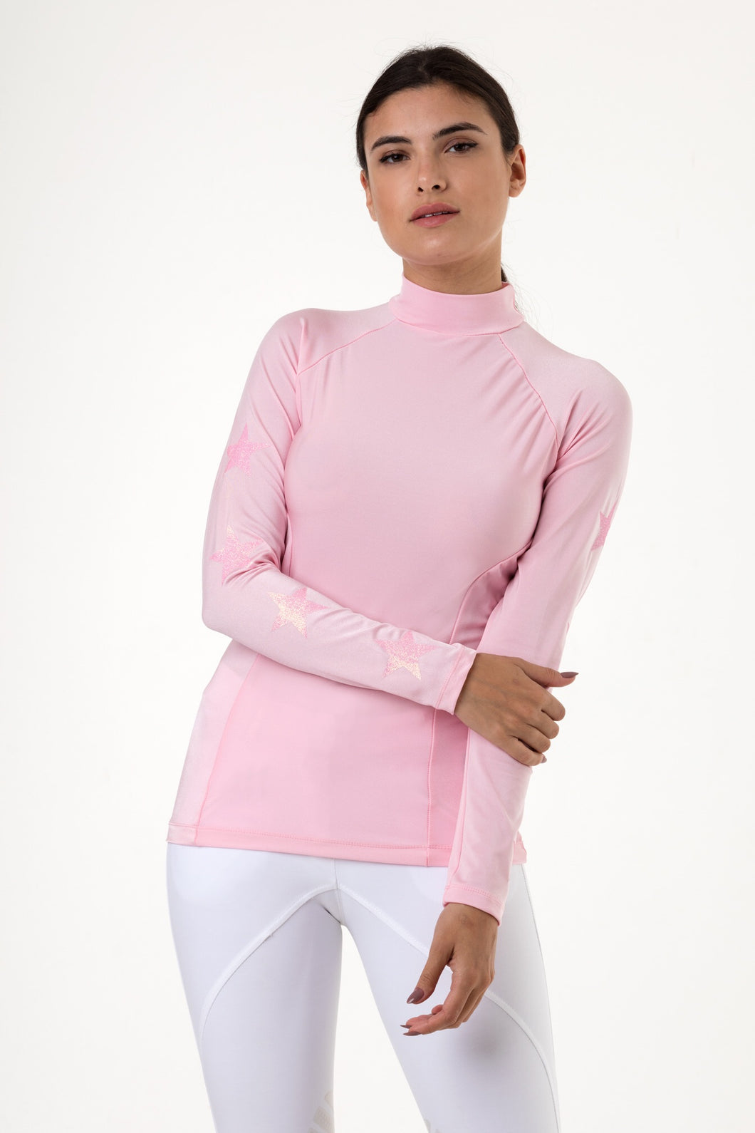 Baby Pink Understated Baselayer