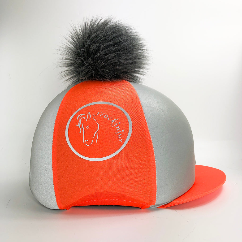 Fluorescent Orange Beacon Hat Silk