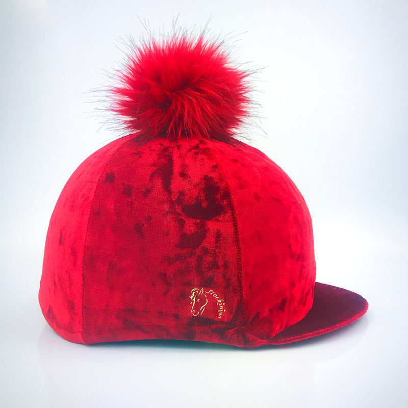 Lava Red Dapple Hat Cover