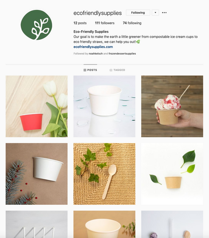 Eco-Friendly Supplies on Instagram, 4 Steps to Creating a Cohesive Brand