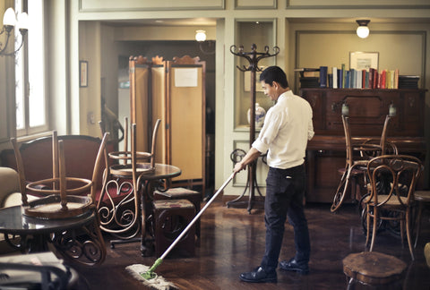 Floor Cleaning, A Restaurant's Guide to Avoiding COVID-19 While Being Eco-Friendly
