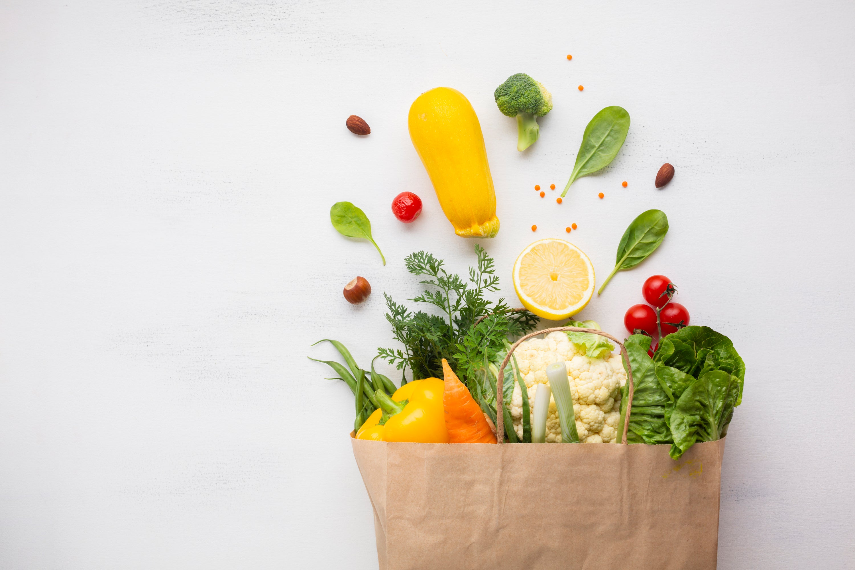 Vegetables in Bag, What Produce is in Season in Autumn?