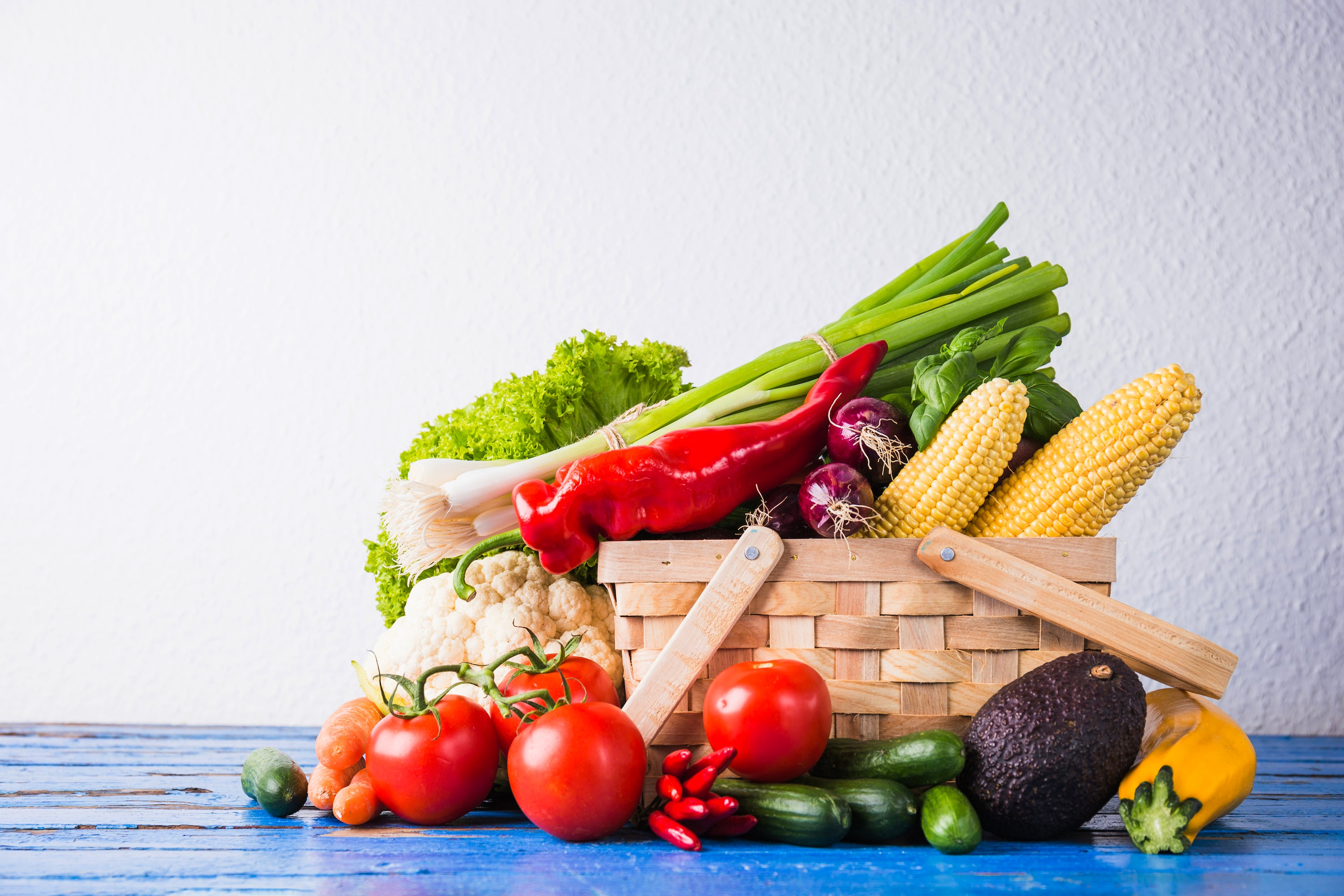Vegetables in Basket, What Produce is in Season in Autumn?